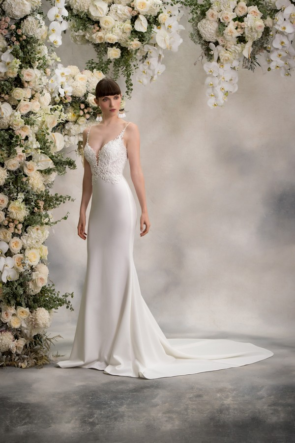 Shelly Wedding Dress from the Anna Georgina Inca Lily 2018 Bridal Collection