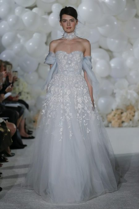 Skye Wedding Dress from the Mira Zwillinger Over the Rainbow 2018 Bridal Collection