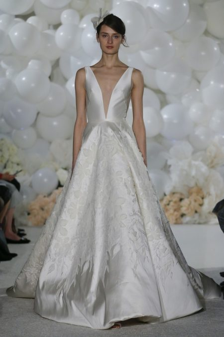 Tara Wedding Dress from the Mira Zwillinger Over the Rainbow 2018 Bridal Collection