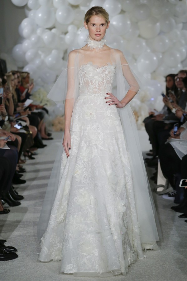 Tiffania Wedding Dress from the Mira Zwillinger Over the Rainbow 2018 Bridal Collection