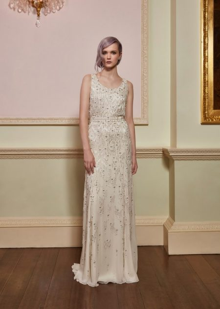 Treasure Wedding Dress in Ivory from the Jenny Packham 2018 Bridal Collection