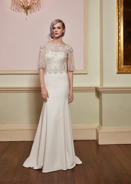 Unity Top with Serene Gown from the Jenny Packham 2018 Bridal Collection