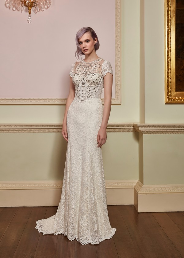 Valentine Wedding Dress from the Jenny Packham 2018 Bridal Collection