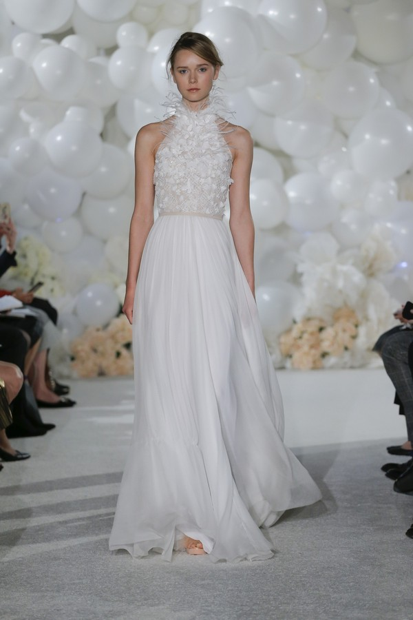 Vera Wedding Dress from the Mira Zwillinger Over the Rainbow 2018 Bridal Collection