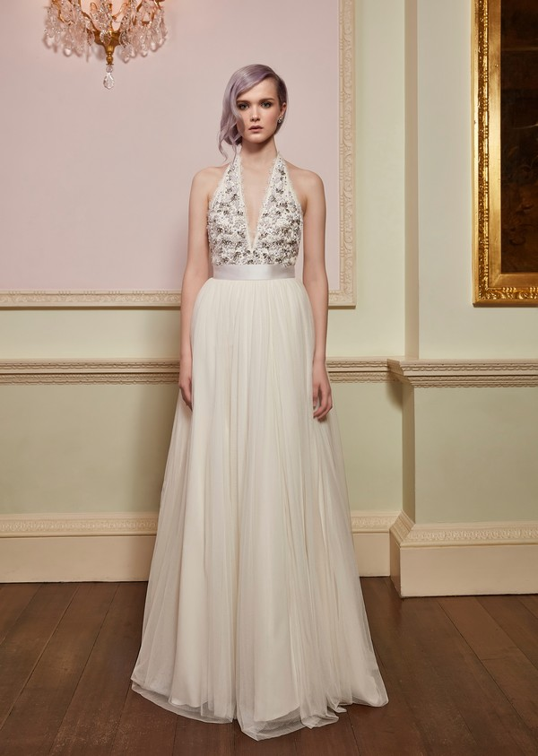 Verity Top with Bloom Skirt from the Jenny Packham 2018 Bridal Collection