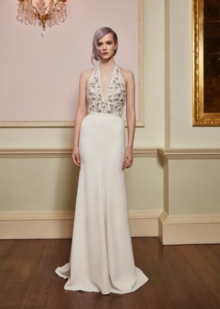 Verity Top with Christy Skirt from the Jenny Packham 2018 Bridal Collection