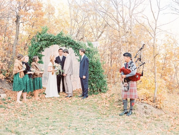 Wedding Ceremony with Piper