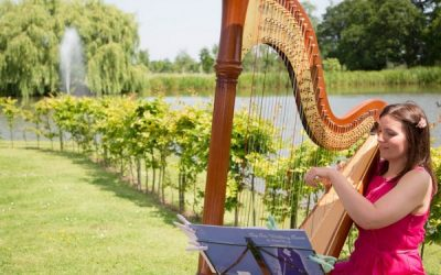 5 Great Reasons to Book a Wedding Harpist