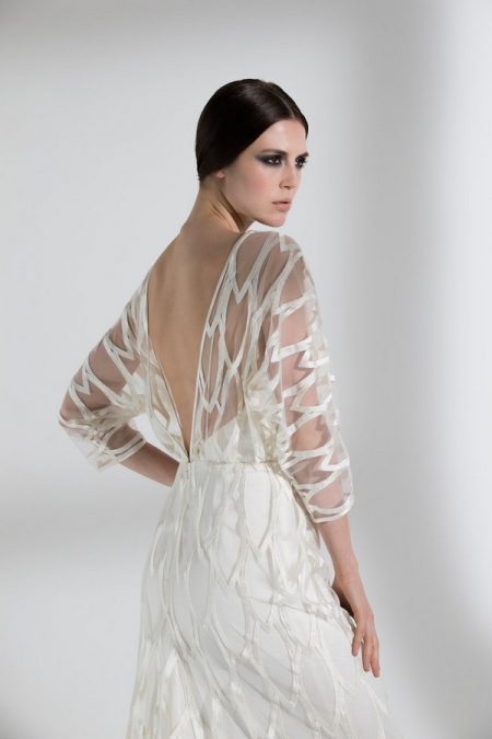 Back of Willow Wedding Dress from the Halfpenny London The Garden After the Rain 2018 Bridal Collection