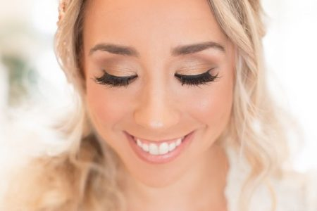 Winter Bridal Beauty Look