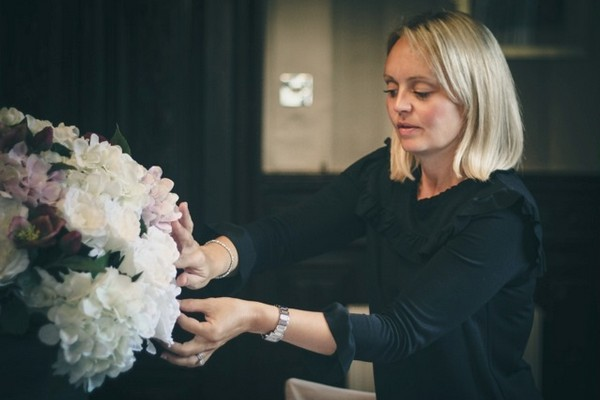 Hayley Bunting of Hayley Jayne Weddings and Events at Work