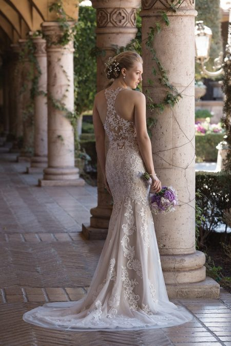 Back of 4027 Wedding Dress from the Sincerity Bridal SS18 Collection