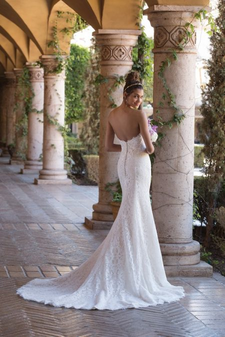 Back of 4029 Wedding Dress from the Sincerity Bridal SS18 Collection