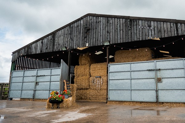 Cow shed wedding venue