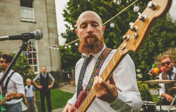 Wedding band bass player