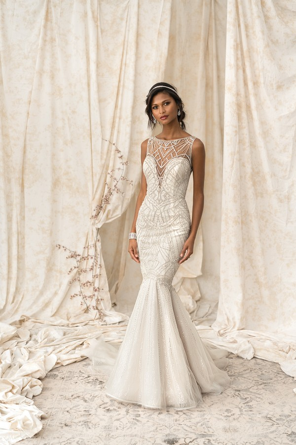 9897 Wedding Dress from the Justin Alexander Signature Spring/Summer 2018 Bridal Collection