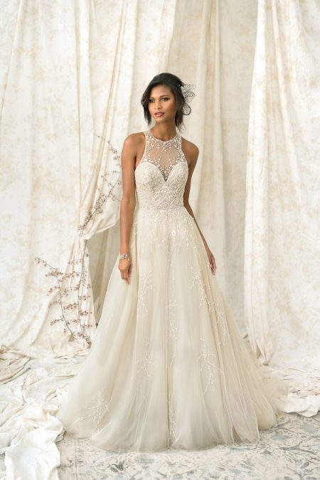 9900 Wedding Dress from the Justin Alexander Signature Spring/Summer 2018 Bridal Collection