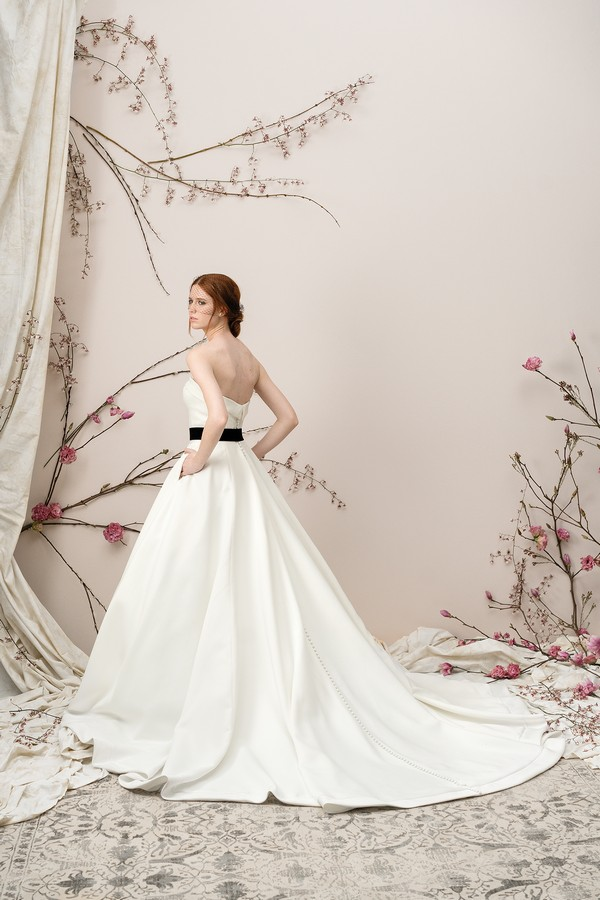 Back of 9904 Wedding Dress from the Justin Alexander Signature Spring/Summer 2018 Bridal Collection