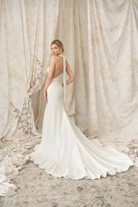 Back of 9905 Wedding Dress from the Justin Alexander Signature Spring/Summer 2018 Bridal Collection