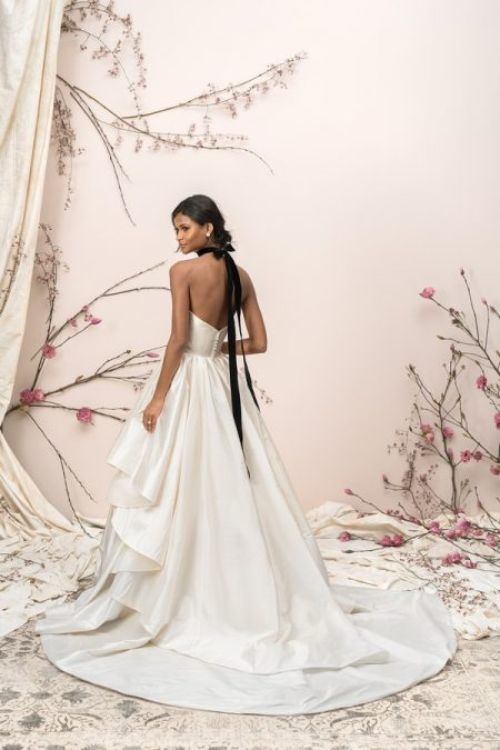 Back of 9906 Wedding Dress from the Justin Alexander Signature SS18 Bridal Collection