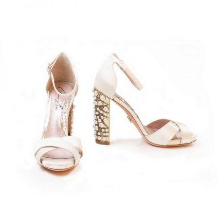 Agata Bridal Shoes from the Aruna Seth Pearls and Diamonds Collection