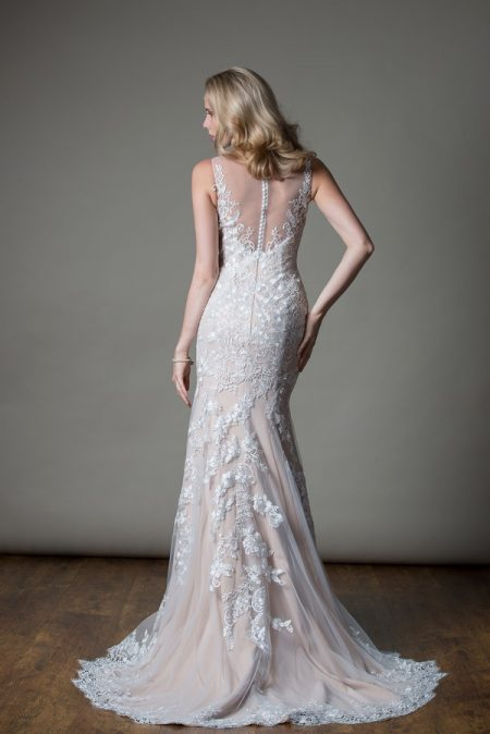 Back of Alexandra Wedding Dress from the MiaMia Love Letters 2018 Bridal Collection