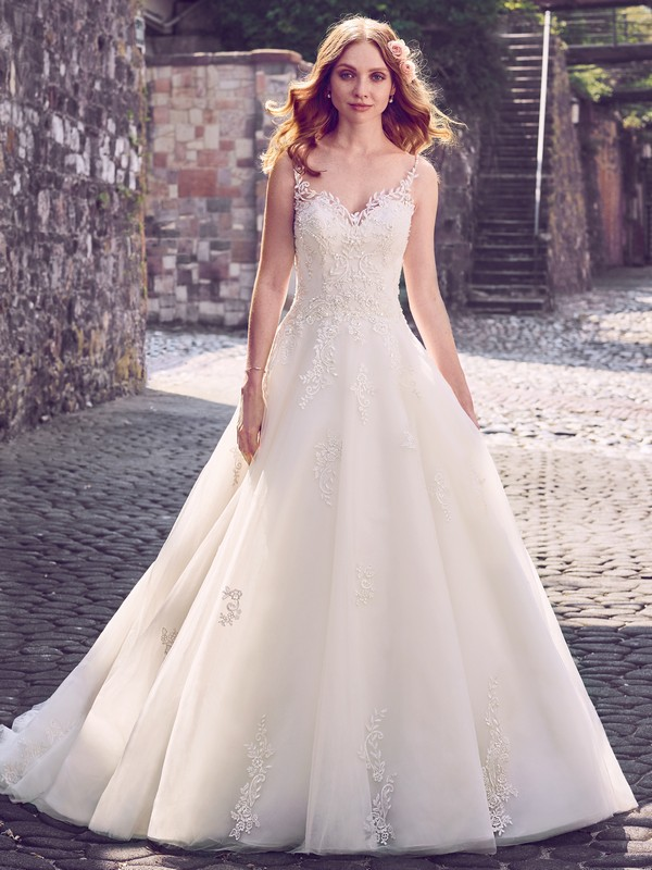 Amara Wedding Dress from the Maggie Sottero Emerald 2018 Bridal Collection