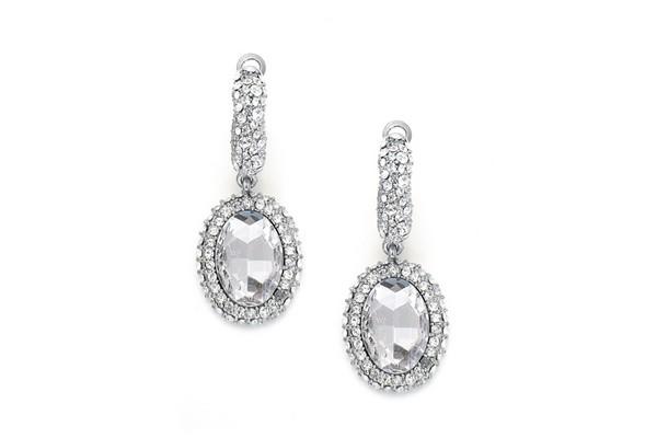 Amelia Wedding Earrings Winter Bridal Accessory