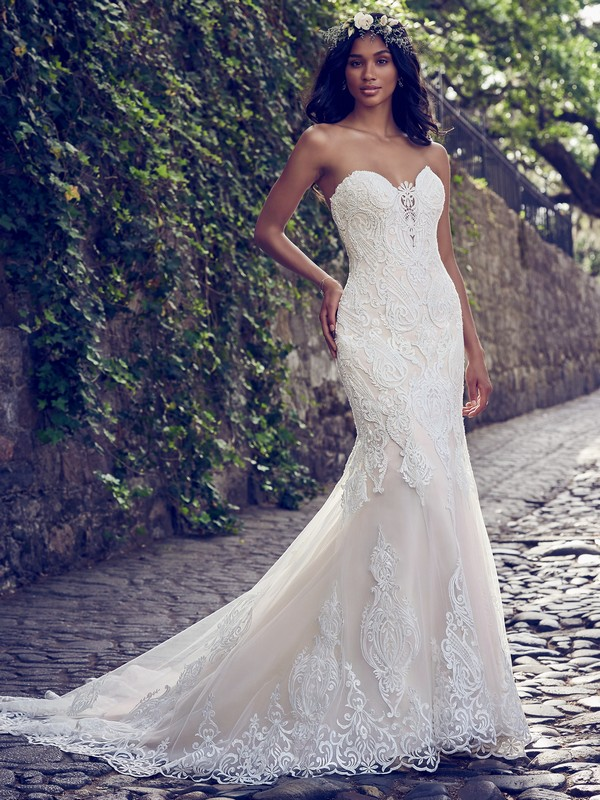 Autumn Wedding Dress from the Maggie Sottero Emerald 2018 Bridal Collection