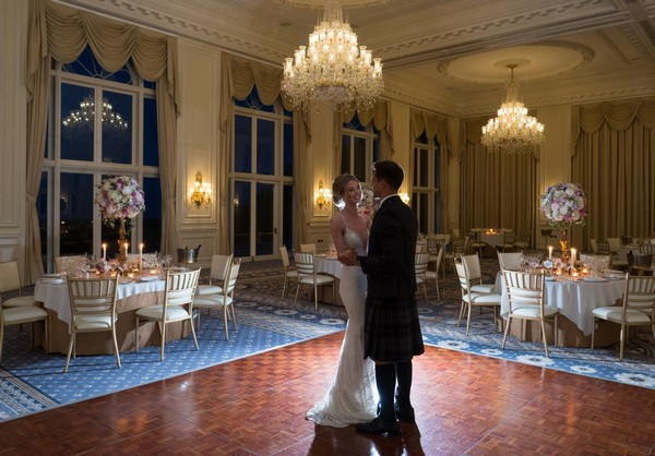 Ballroom First Wedding Dance at Trump Turnberry