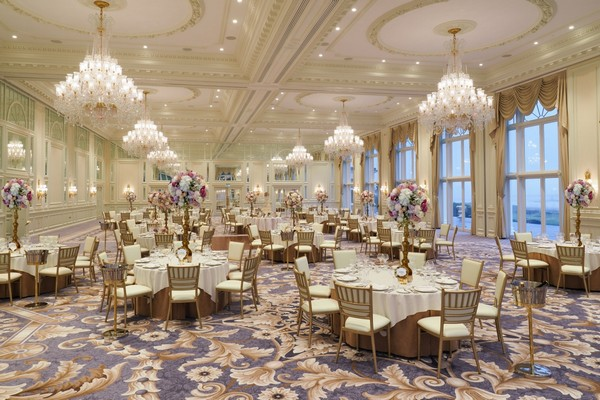 Ballroom Wedding Breakfast at Trump Turnberry