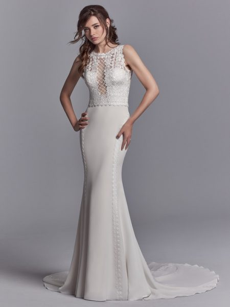 Barrington Wedding Dress from the Sottero and Midgley Khloe 2018 Bridal Collection