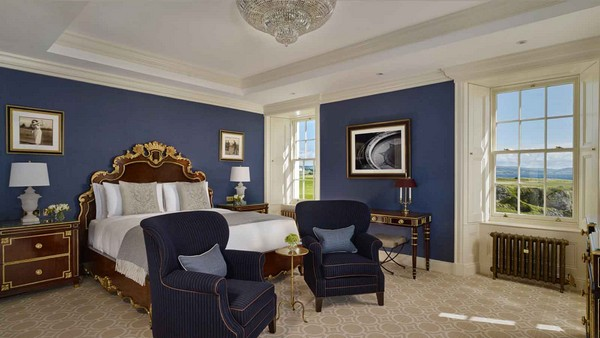 Bedroom at Trump Turnberry