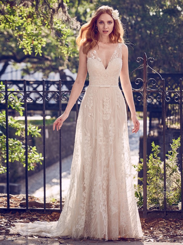 Belecia Wedding Dress from the Maggie Sottero Emerald 2018 Bridal Collection