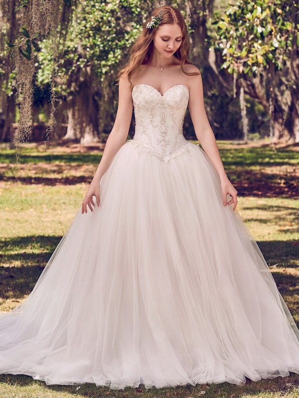Benton Wedding Dress from the Maggie Sottero Emerald 2018 Bridal Collection
