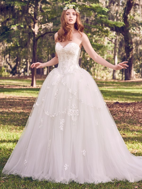 Benton Marie Wedding Dress from the Maggie Sottero Emerald 2018 Bridal Collection