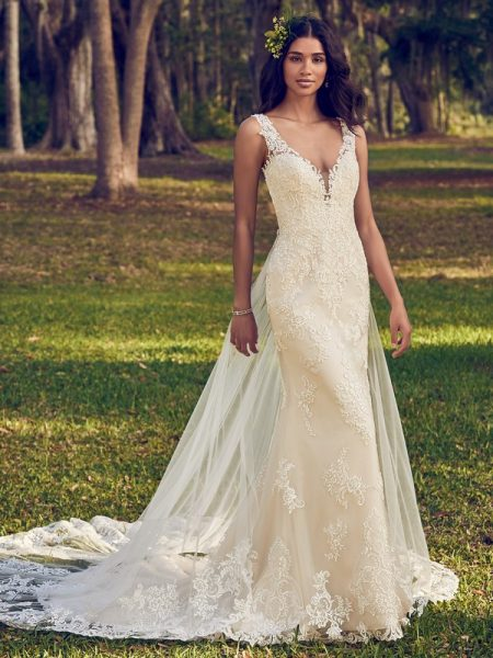 Bernadine Wedding Dress from the Maggie Sottero Emerald 2018 Bridal Collection