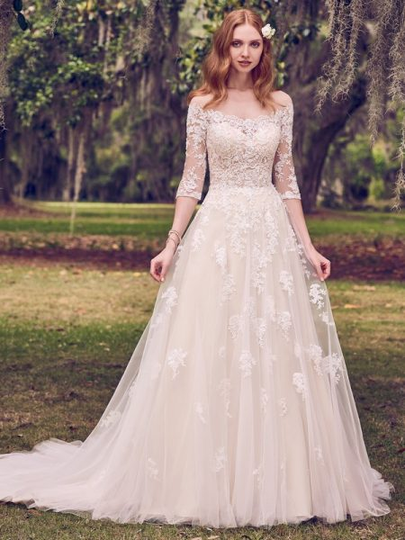 Bree Wedding Dress from the Maggie Sottero Emerald 2018 Bridal Collection