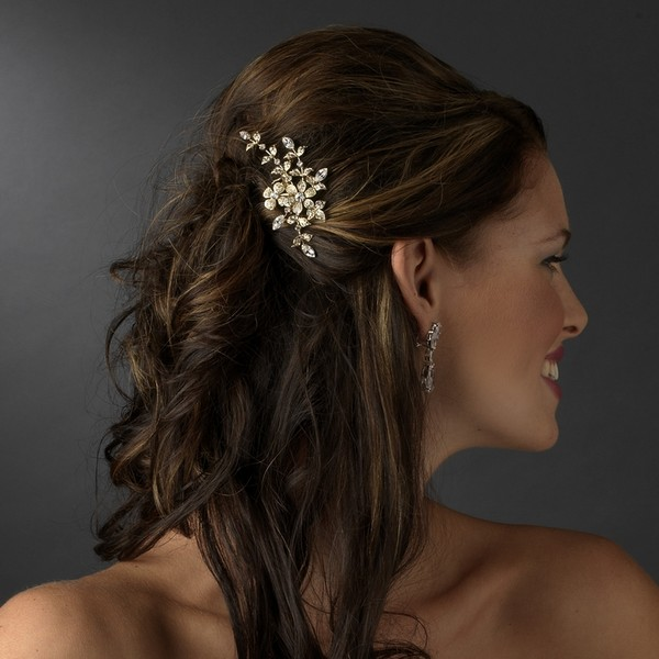 Bridal Mini Hair Comb Autumn Bridal Accessory