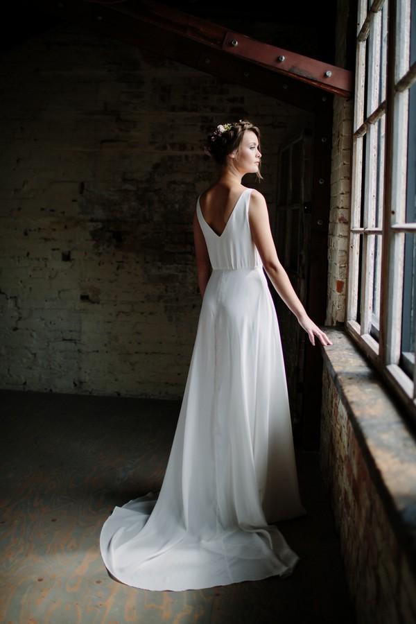 Brigitte Wedding Dress from the Sienna Von Hildemar 2018 Bridal Collection