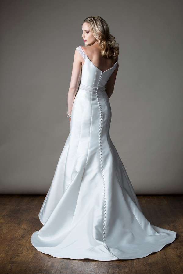 Back of Brittany Wedding Dress from the MiaMia Love Letters 2018 Bridal Collection