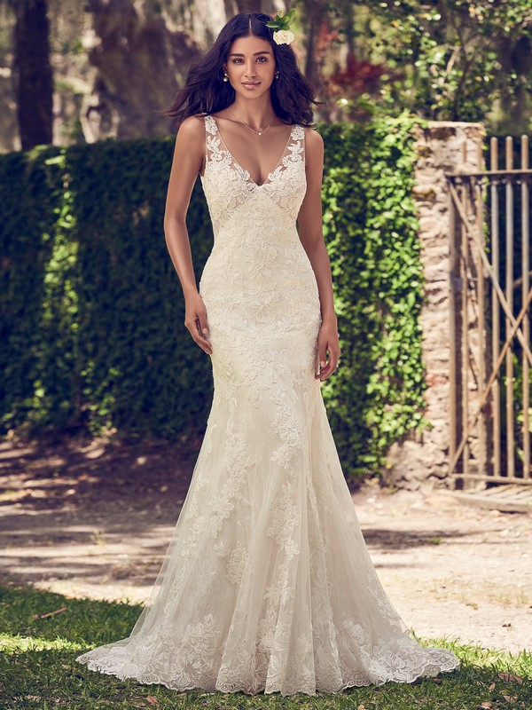 Charlotte Wedding Dress from the Maggie Sottero Emerald 2018 Bridal Collection