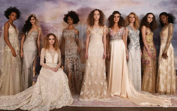 Wedding Dresses from the Claire Pettibone Vagabond 2018 Bridal Collection