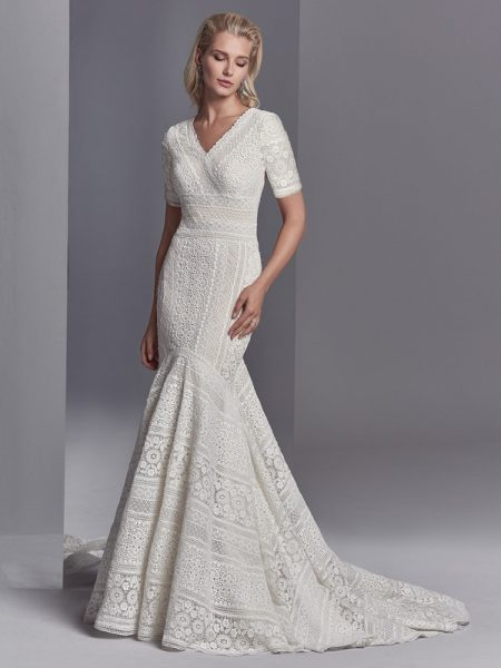 Cooper Rose Wedding Dress from the Sottero and Midgley Khloe 2018 Bridal Collection
