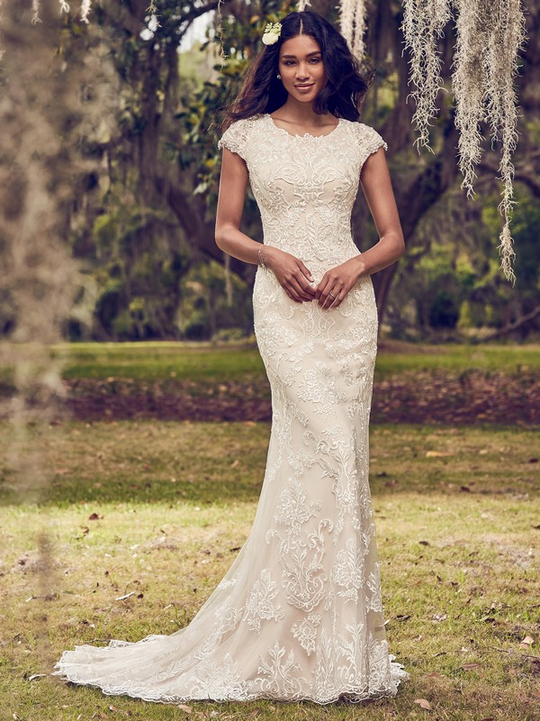 Daisha Wedding Dress from the Maggie Sottero Emerald 2018 Bridal Collection