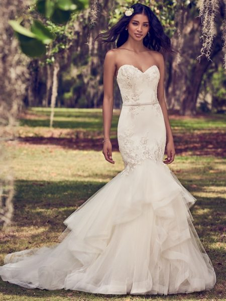 Dalinda Wedding Dress from the Maggie Sottero Emerald 2018 Bridal Collection
