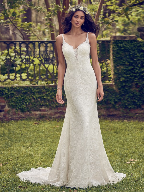 Dorian Wedding Dress from the Maggie Sottero Emerald 2018 Bridal Collection