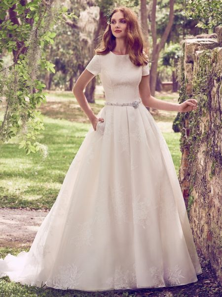 Dylan Marie Wedding Dress from the Maggie Sottero Emerald 2018 Bridal Collection