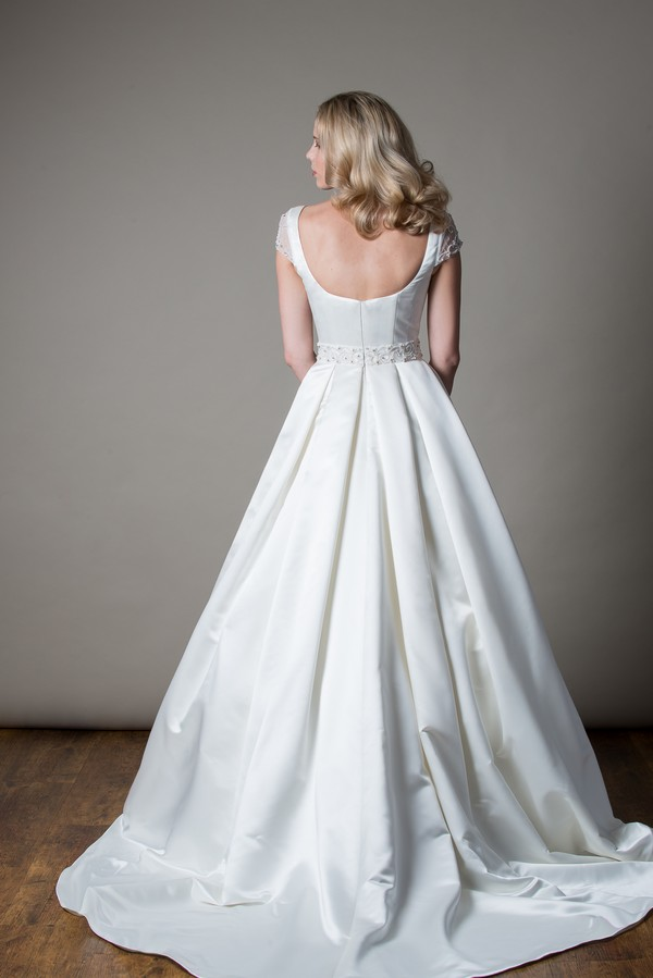 Back of Eda Wedding Dress from the MiaMia Love Letters 2018 Bridal Collection