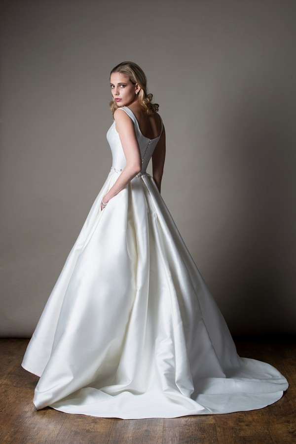 Back of Eleanora Wedding Dress from the MiaMia Love Letters 2018 Bridal Collection